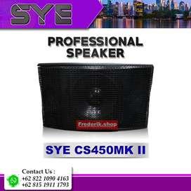 SYE CS450VMKII PROFESSIONAL SPEAKER KARAOKE 10 INCH WOOFER