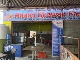 Fast food anand bhavan