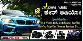 Home & car audio, woofers, speakers & tweeters services