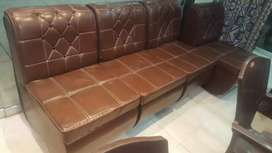 Office furniture with Sofa set. Table