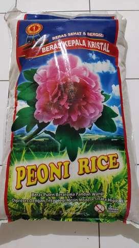 Beras Peoni (Premium) 25 kg