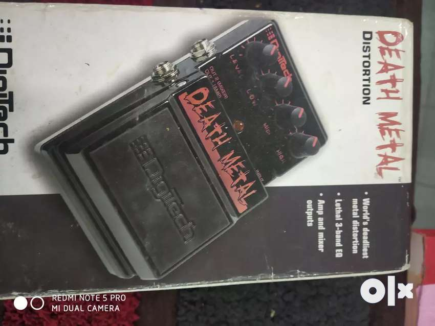 Digitech distortion for electric guitar 0