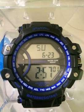 Jual cepat jam tangan digital fujitec