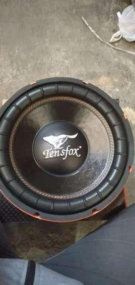 Subwoofer 12inc Tensfox Dobel Magnet Kelas Kompetisi