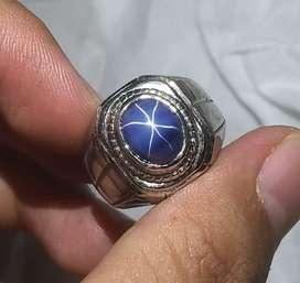 BATU CINCIN BLUE AMERICAN STAR
