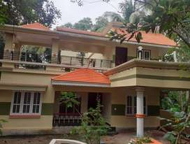 INDEPENDENT DOUBLE STORIED HOUSE FOR RENT AT TRIVANDRUM  PRAVACHMBALAM