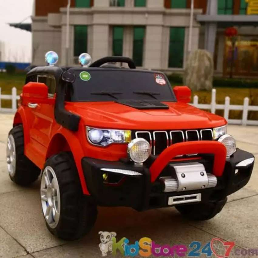 Kid Baby Ride On Big Size Electric Jeep 0