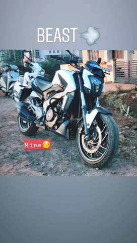 Dominar400 in very good condition less driven 2017 ending model