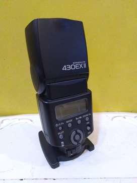 canon flash 430 ex II