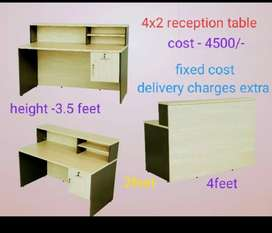 4*2 reception table brand new
