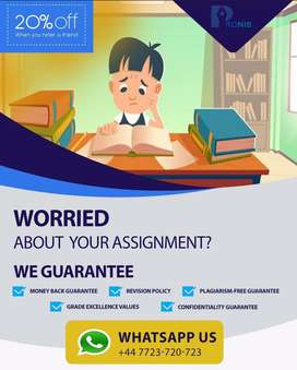 Assignment Writing, Thesis Writing, Dissertation, FYP