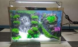Aquarium Air Terjun mini
