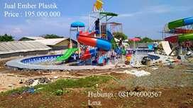 PEMBUATAN WATERPARK EMBER TUMPAH 195 L TERMURAH |  PALANGKARAYA