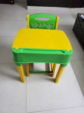 Kids study table (neelkamal brand) in excellent condition
