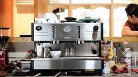 Mesin Kopi Espresso 2group SAECO