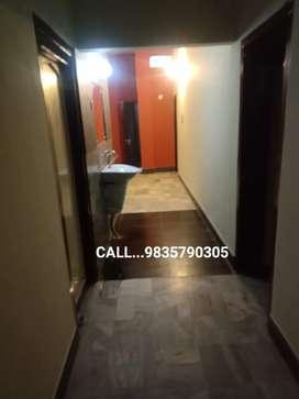 3 BHK semi furnished Rajendra nagar