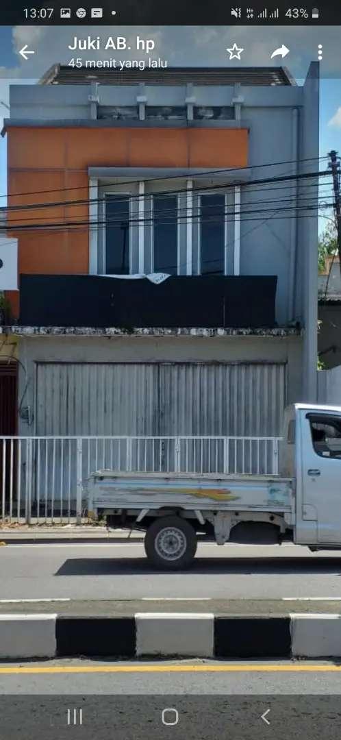 RUKO ( rumah toko ) strategis tepi Jl. Magelang Jogya