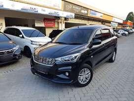 Suzuki New Ertiga GL A/T Thn 2019 Hitam Met Kilometer Low 10.000