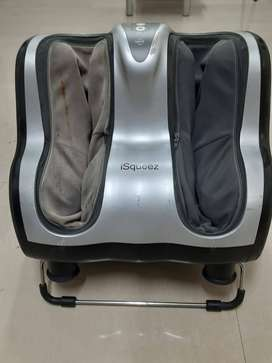 OSIM iSqueez Foot Massager for sale, 2nd hand, Rs 5000, CASH ONLY