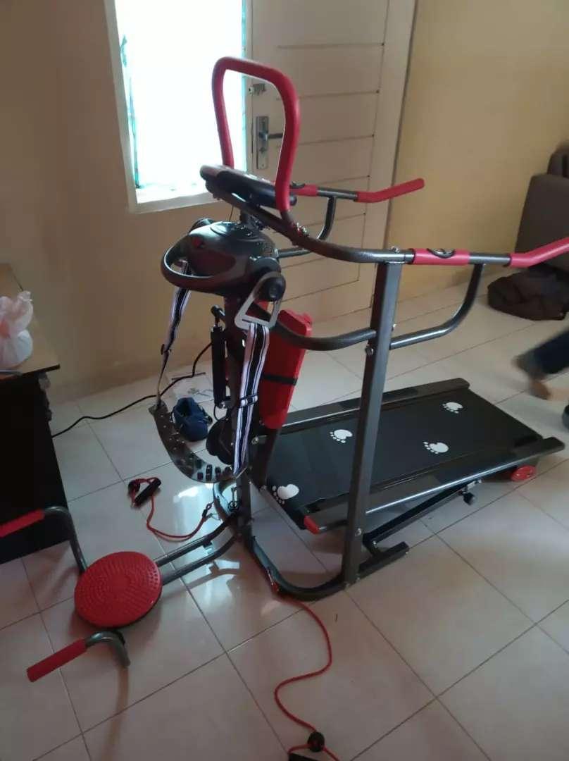 Treadmill manual 6 fungsi 0