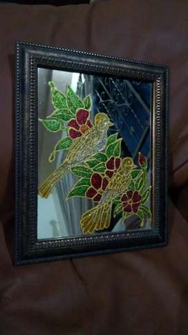 Mirror crystal painting