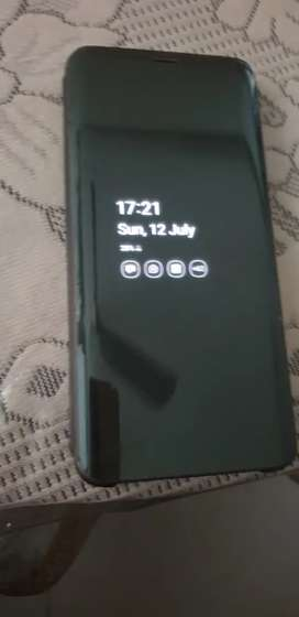 Samsung Mobile Flip Case for Samsung Galaxy S9 Plus, Black (2 Nos).