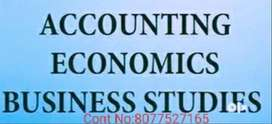 ONLINE COACHING FOR ACCOUNTS, ECONOMICS, COMMERCE CLASS 11,12, NIOS