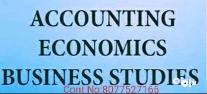 ONLINE COACHING FOR ACCOUNTS, ECONOMICS, COMMERCE CLASS 11,12, NIOS