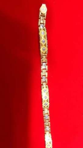 Menerima emas berlian Tampa surat