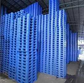 Palet plastik import stok ribuan tersedia baru dan bekas murah