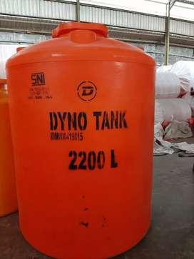 Tandon air DYNO TANK 2200lt Baru