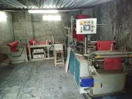 Nonwoven bag machine & part's