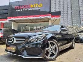 Mercedes Benz C250 AMG 2014 , Km 24rb Plat D Terawat Service Record !