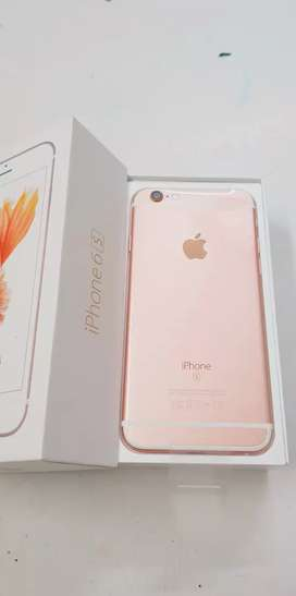 Brand new products iPhone 6s 64gb with bill box six months sellers