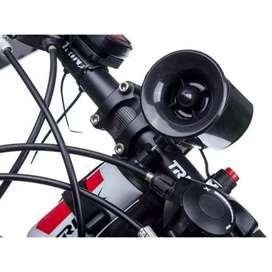 Klakson sepeda-large bicycle horn sound-hitam