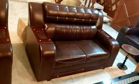 6 seater sofa set Leather bed dining and all hone furniture selling