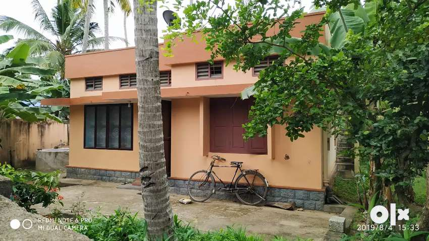 Single storey house along with 12 cent plot for sale 0
