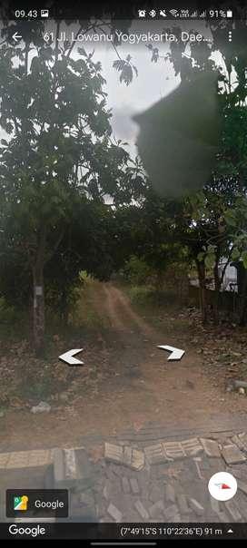 disewakan tanah strategis ditengah kota Yogyakarta