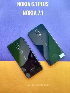 Nokia 7.1 and Nokia 6.1 plus 6gb ram