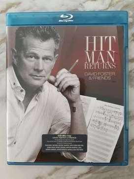 Preloved Bluray Disc Original Music Movie Hit Man Returns David Foster