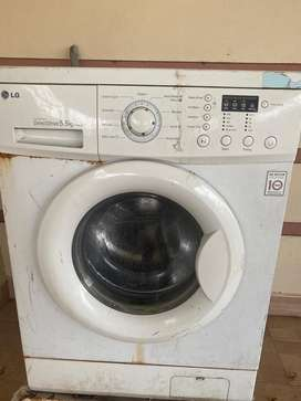 LG front loading inverter direct drive washing machine