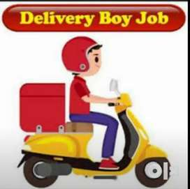 Urgent requirement for delevry boy only male candidate