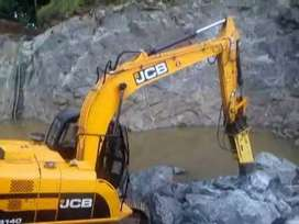 JCB js 140(hittachi) for rent hourly/daily/monthly at low rate.