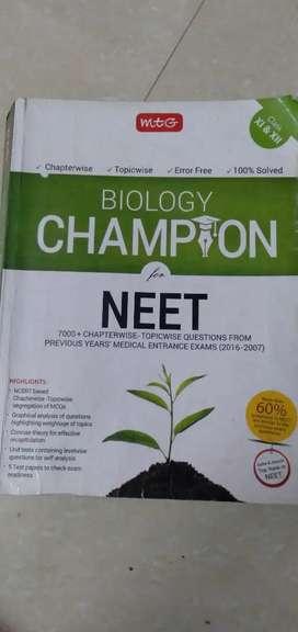MTG Biology CHAMPION FOR NEET