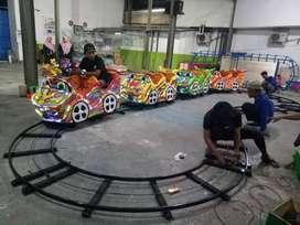 kereta rel bawah lantai mini roller coaster odong wahana mainan anak 1