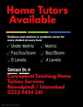 Expert Subject Specialist Teachers are Available