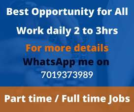 Genuine Data Entry / Simple Typing / Work from home/ Monthly 30k