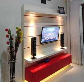 Backdrop Tv - Sekat -  Kitchen Set - Kamar Set - Minibar - Lemari