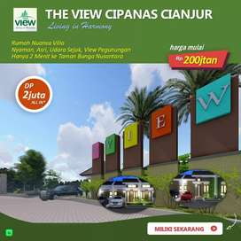Rumah Cantik Murah DP 2 jt all in Cipanas Puncak Cianjur, Bogor