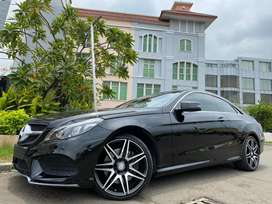 E400 Coupe AMG Dynamic 2014 Nik14 Black On Red Km20rb #BEST DEAL!!